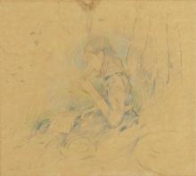 Morisot, Julie Manet suona il flautino.png