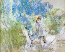 Morisot, Julie a Bougival.jpg