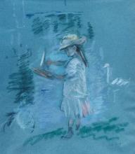 Morisot, Julie in rosa in riva al lago.jpg