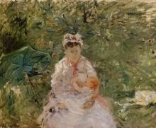 Morisot, La balia Angele che allatta Julie Manet.jpg