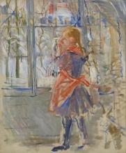 Morisot, La bambina con il grembiule rosso.jpg