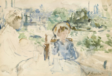 Morisot, La colazione in campagna.png