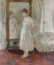 Morisot, La specchiera | La psyché | The Psyche mirror | El espejo psiqué