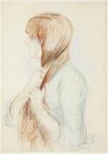 Morisot, La treccia.jpg