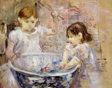 Morisot, Le bambine con la vasca.jpg