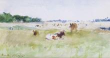 Morisot, Mucche al pascolo.png