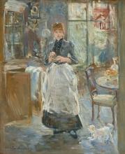 Morisot, Nella sala da pranzo.jpg