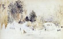 Morisot, Paesaggio innevato.jpg
