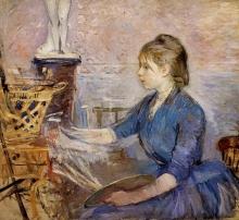 Morisot, Paule Gobillard che dipinge.jpg
