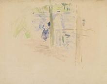 Morisot, Pescatori sulla riva del lago del Bois de Boulogne.jpg
