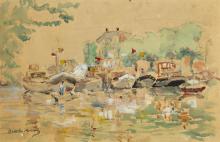 Morisot, Porto peschereccio.png