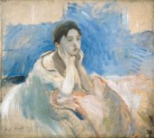 Morisot, Ragazza appoggiata sui gomiti.jpg