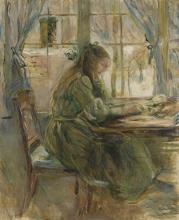 Morisot, Ragazza che scrive [1891].jpg