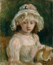 Morisot, Ragazza con il cappello [1892].jpg