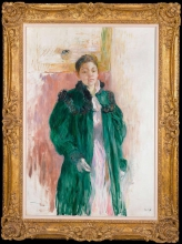 Morisot, Ragazza con il cappotto verde [cornice].jpg