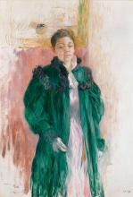 Morisot, Ragazza con il cappotto verde.jpg