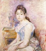 Morisot, Ragazza con il corpino azzurro.jpg