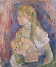 Morisot, Ragazza con il ventaglio.jpg