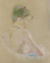 Morisot, Ragazza con le spalle nude.png