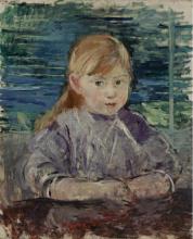 Morisot, Ragazza in malva.png