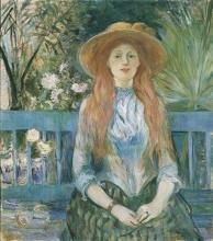 Morisot, Ragazza in un parco.jpg