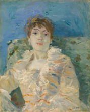 Morisot, Ragazza su un divano.png