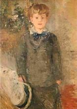 Morisot, Ragazzino vestito di grigio.jpg