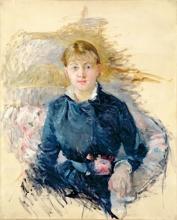 Morisot, Ritratto di Louise Riesener [1881].jpg