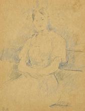 Morisot, Ritratto di Mademoiselle Alice Gamby.png