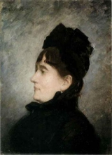 Morisot, Ritratto di signora in nero.jpg