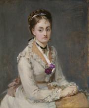 Morisot, Ritratto di una donna.png