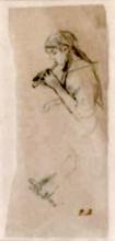 Morisot, Ritratto presunto di Julie Manet che suona il flauto.jpg