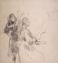 Morisot, Studio per 'La musica'.jpg