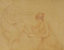 Morisot, Studio per Il bagno.jpg