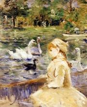Morisot, Sul lago.jpg