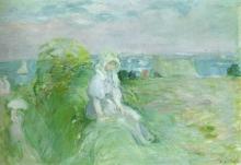 Morisot, Sulla falesia a Portrieux.jpg