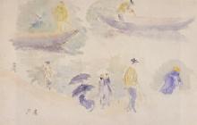 Morisot, Sulla riva della Senna.jpg