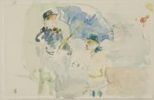 Morisot, Sulla spiaggia di Nizza (1882).jpg