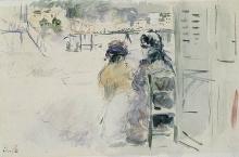 Morisot, Sulla spiaggia di Nizza.jpg