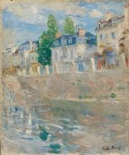 Morisot, Sulle rive della Senna, Bougival.jpg