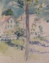 Morisot, Un villaggio in Normandia.jpg
