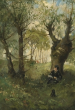 Morisot, Vecchio sentiero ad Auvers.jpg