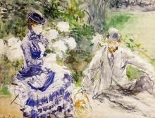 Morisot, Vicino all'acqua.jpg