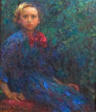 Plinio Nomellini, Ritratto della figlia