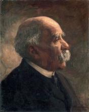 Nomellini, Ritratto di Giovanni Fattori