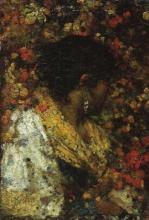 Luigi Nono, Busto di popolana ripresa di profilo | Bust of peasant woman in profile
