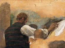 Nono, Il pittore all'aperto | The painter outdoors