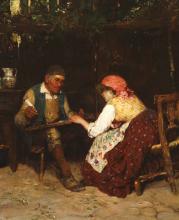 Luigi Nono, La lettera al moroso [dettaglio]
