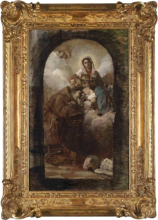 Nono, Madonna con Gesù Bambino, da Giovanni Battista Tiepolo