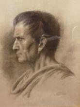 Nono, Ritratto di Giulio Cesare di profilo